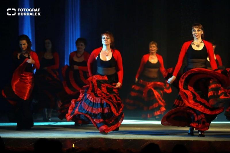 Magická taneční show