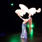 Sabua tanec s vějíři